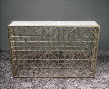 Antonio Gold Console Ideal for Modern Decor