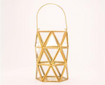 Classy Golden-Coloured Lantern
