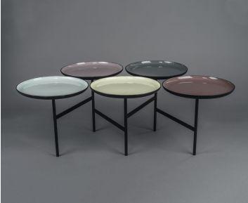 Alvarez Multi-Coloured Side Table for House Decoration