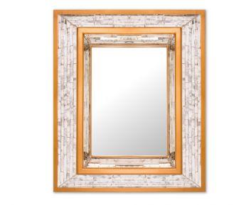 Adorable Wall Mirror in Dark Gold
