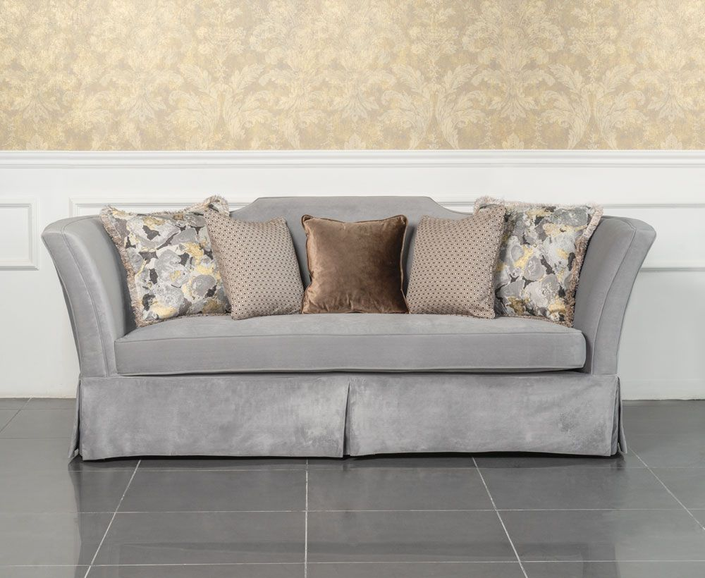 Magnificent Valyermo 3 Seater Sofa In Light Blue To Enhance Home Decor Interior Design Ideas Clesiryabchikinfo
