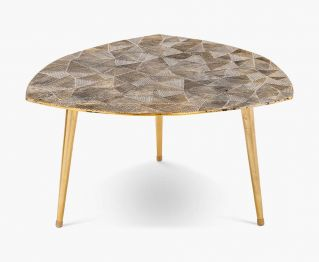 Brielle Coffee Table Antique Brass