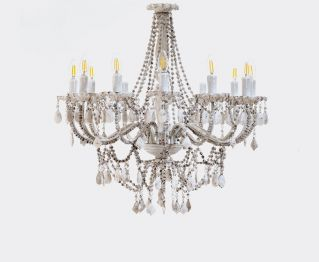 Matt White Chandelier to Upgrade Modern Decor