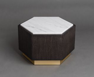 Hive Dark Black Coffee Table for House Decoration