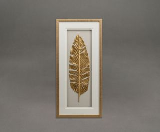 Gold Leaf Shadow Box Frame For House Decoration