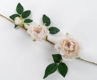 Ivory Rose Garland for House Decoration 9 x 67 cm
