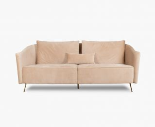 Lego 3-Seater Sofa in Beige to Complete Home Furniture