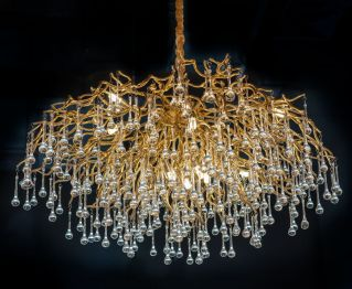 Pendant Lamp in Gold Colour For Perfect Home Decor