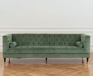 Hydee 3-Seater Sofa in Green to Enhance Home Decor