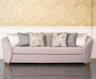Demilee 4-Seater Sofa in Grey to Enhance Home Decor