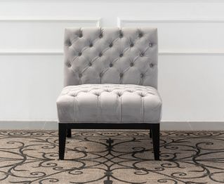 Birmingham One-Seater sofa in Grey for House Decoration
