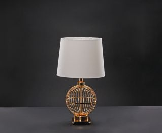 French Gold Table Lamp for House Decoration