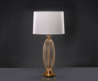 French Gold Table Lamp Ideal for House Decoration