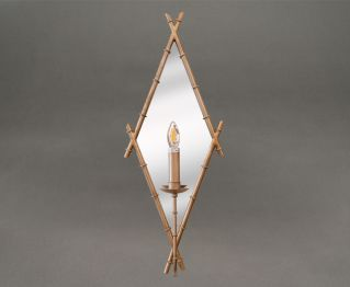 Alluring Antique Silver Wall Lamp for House Decoration