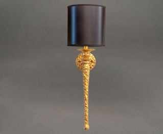 Alluring Brass Wall Lamp for House Decoration