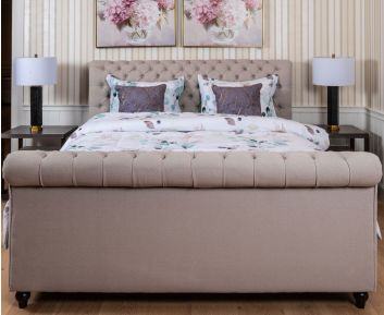 Grey-coloured Mitchelle Bed to Complete Home Furniture