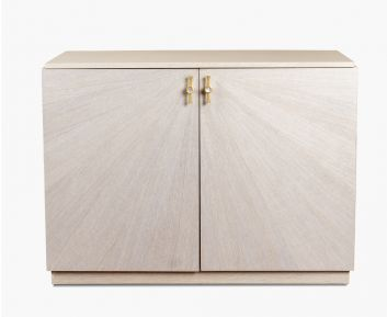Adler Side Cabinet in Beige for House Decoration