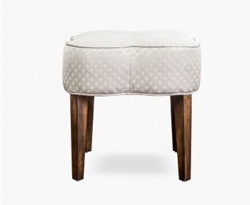 Adrielle Grey Stool for House Decoration