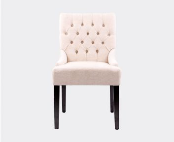 Alice Dining Chair in Cream for House Decoration