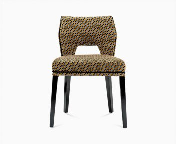 Ansley dining chair yellow