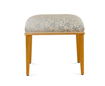 Bailey Gold Stool for House Decoration