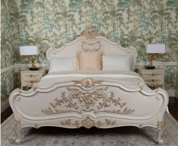 Margeritha King-Size Bed for Bedroom Decoration