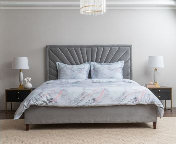 Moon King-Size Bed Ideal for Bedroom Decoration
