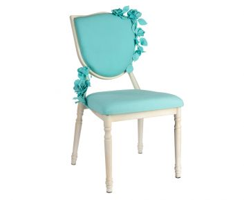 Elizaveta Blue Chair to Complement Home Furniture