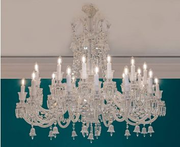 Clear Chandelier to Enhance Home Decor