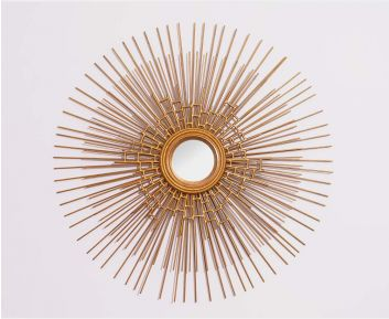 Charlene Gold Mirror for House Decoration