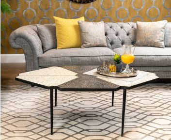 Trier Black Coffee Table for House Decoration