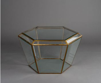 Aubree Clear Glass Coffee Table Must for House Decoration