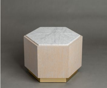 Hive Light Beige Coffee Table for House Decoration
