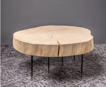Lea Natural Coffee Table for House Decoration