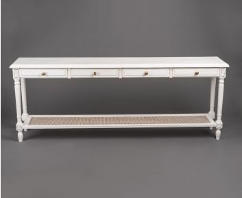 Soft Grey Console Ideal for Modern Decor