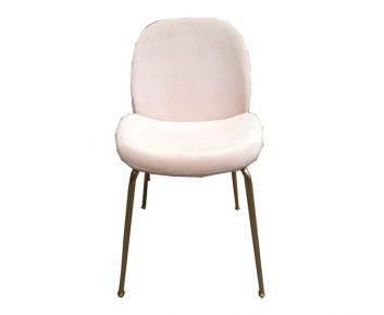 Bettle Dining Chair in Pink to Complete Home Furniture