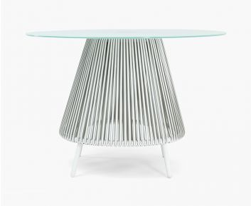 Dynasty Dining Table Blue-White