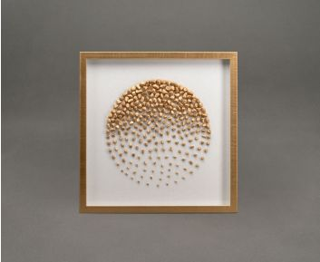Gold Stone Shadow Box Frame Ideal For House Decoration
