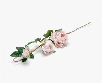 Pink Rose Garland for House Decoration 9 x 67 cm