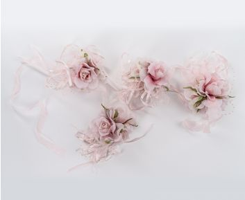 Camillia Pink Rose Garland for House Decoration 9 x 120 cm