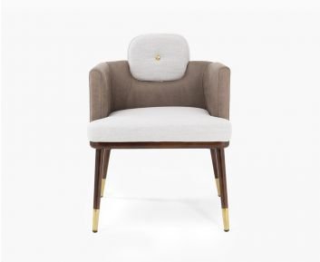 Giorgia Dining Arm Chair Beige-Brown