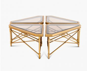 Jac Coffee Table Brushed Gold