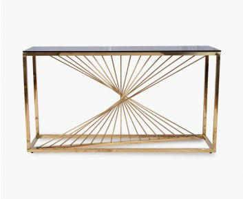 Kain Console Gold-Brown