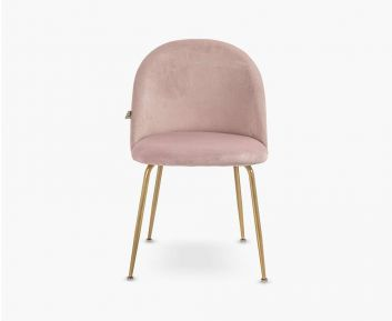Kiwi Dining Chair in Pink to Complete Home Furniture