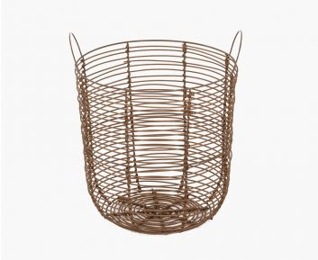 Kyoto Laundry Cane Basket Brown