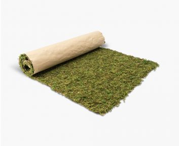 Attractive Green Mos Mat for Home Decoration 45.72x121.92x0.80cm