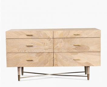 Orion Drawer Chest for House Decoration 168 x 52 x 83 cm