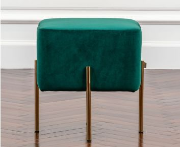 Marjorie Green Ottoman for House Decoration