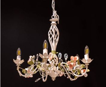 Pendant Lamp in White Gold to Enhance Home Decor
