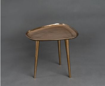 Shelby Bronze Side Table for House Decoration